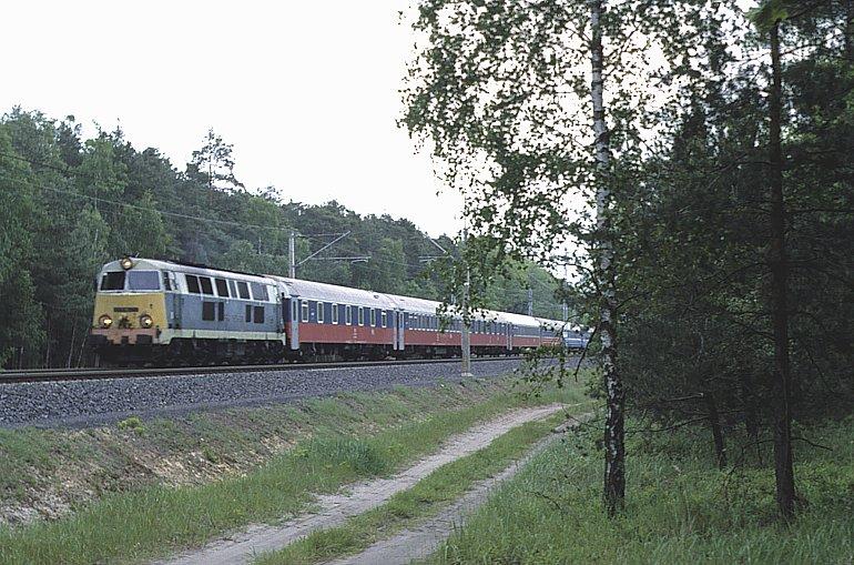 помощью тепловоза) поезда