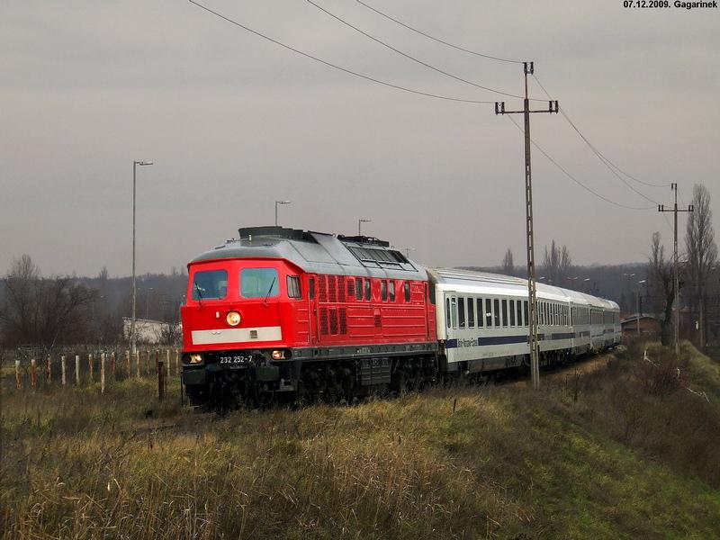 Луганск ТЭ109 #232 252-7