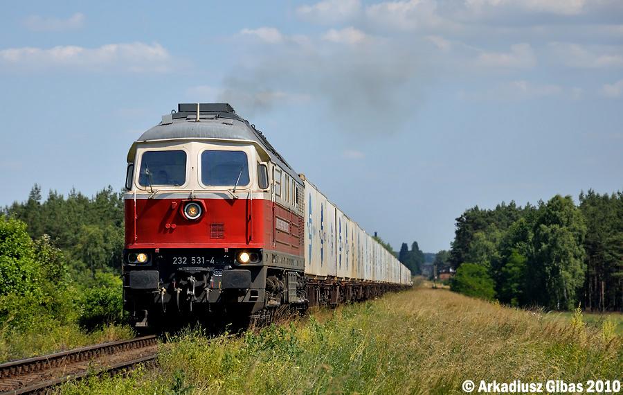 Луганск ТЭ109 #232 531-4