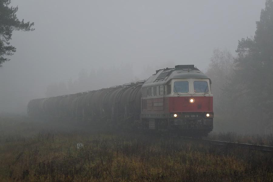 Луганск ТЭ109 #232 128-9