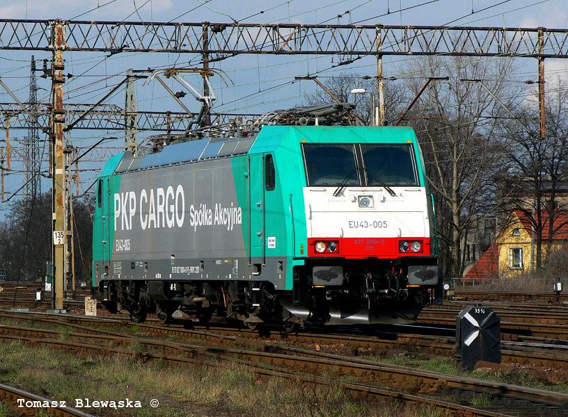 Bombardier TRAXX F 140 MS #EU43-005